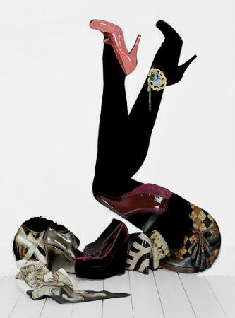 Сюрреалистические фэшн-натюрморты Бела Бордоси. Изображение № 1.