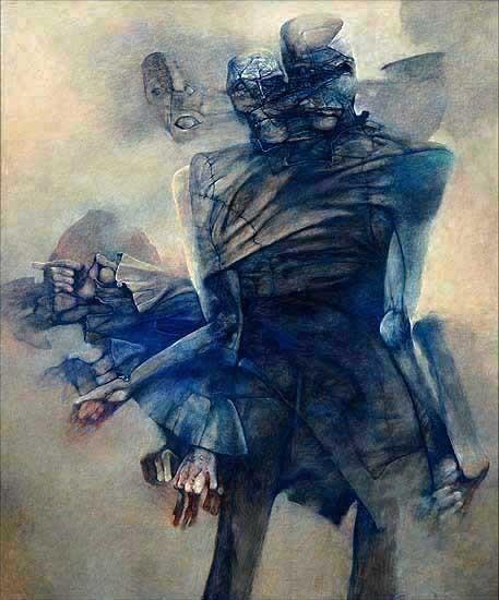 Архив работ Ждислава Бексински. Изображение № 13.