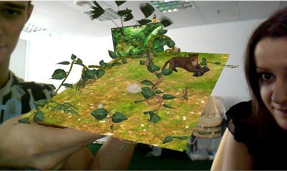 LG и AR Door переносят зрителей из дома в джунгли. Изображение № 1.