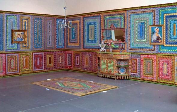 """""""Дом мечты"""", сделанный из 70000 лотерейных билетов. Изображение № 2."""