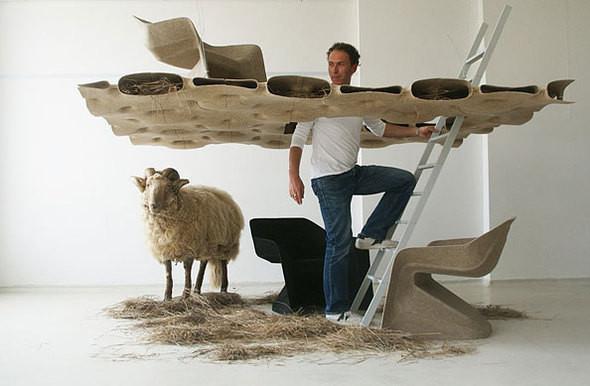 Изображение 3. Мебель из конопли от Werner Aisslinger.. Изображение № 3.