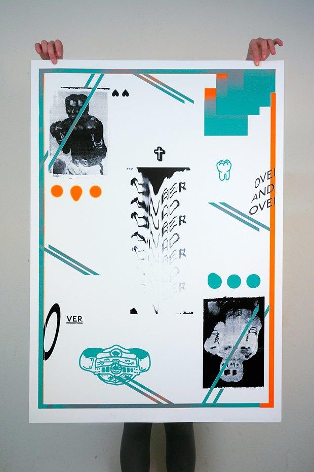 50 постеров, которые вдохновляют заняться шелкографией. Изображение № 33.