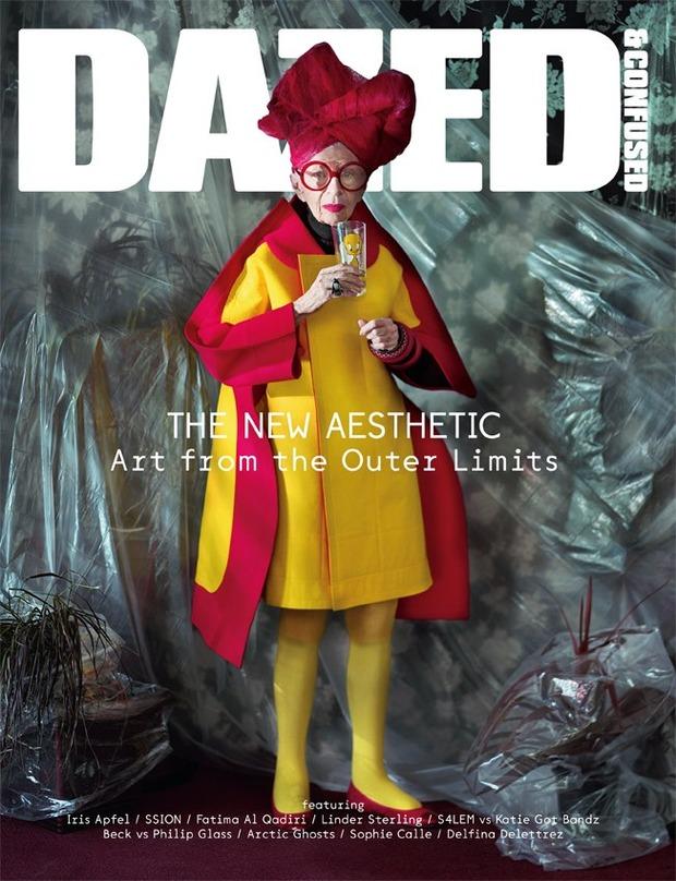 Айрис Апфель снялась для обложки Dazed & Confused. Изображение № 1.