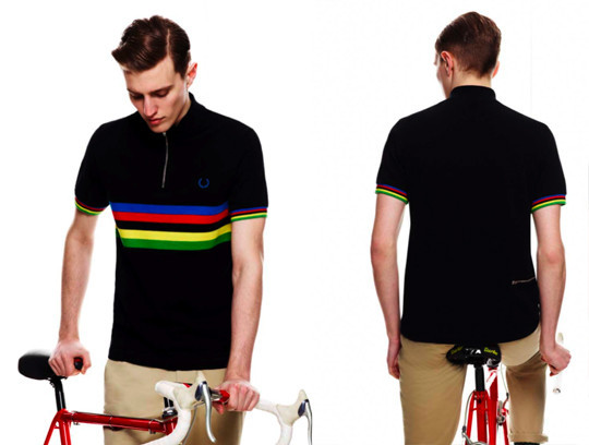Fred Perry X Cycling Blank Canvas. Изображение № 8.
