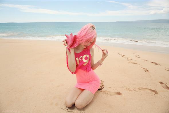 Лукбук: Шарлотта Фри для Wildfox SS 2012. Изображение № 19.