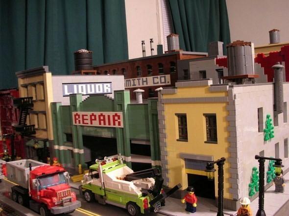 Изображение 9. Улицы Нью-Йорка из конструктора LEGO.. Изображение № 9.