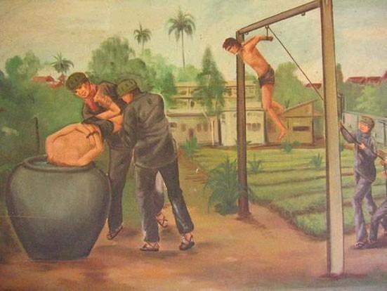 Кхмерский художник Vann Nath. Изображение № 17.