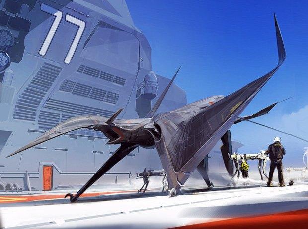 Дизайнер представил биомиметические самолёты. Изображение № 2.
