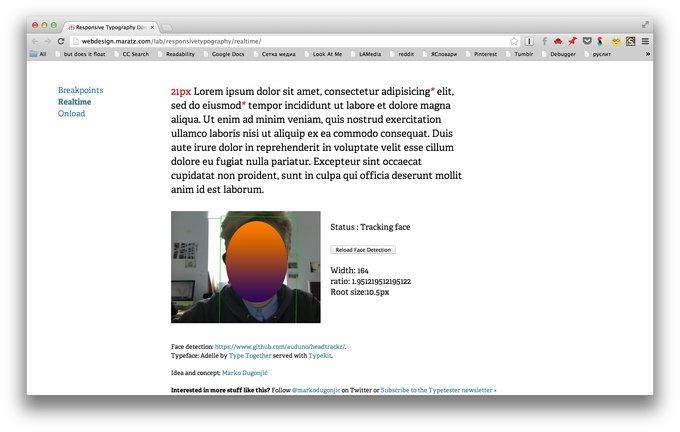 Шрифт веб-страницы стал подстраиваться под пользователя. Изображение № 1.