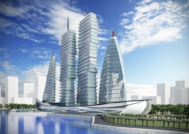 Российский архитектор показал больницу-небоскрёб в виде яхты. Изображение № 10.