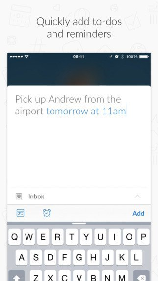 Редизайн дня: новый Wunderlist для iPhone и Android. Изображение № 11.