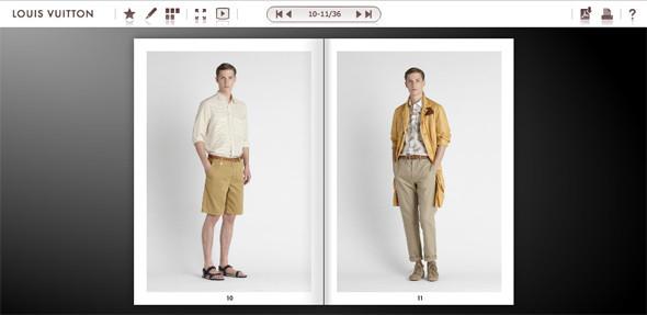 Louis Vuitton запустили электронные лукбуки. Изображение № 1.
