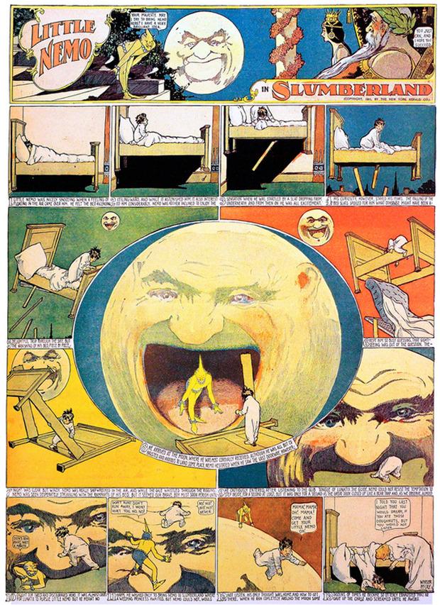 Google отметил 107-летие комикса «Маленький Немо». Изображение № 4.