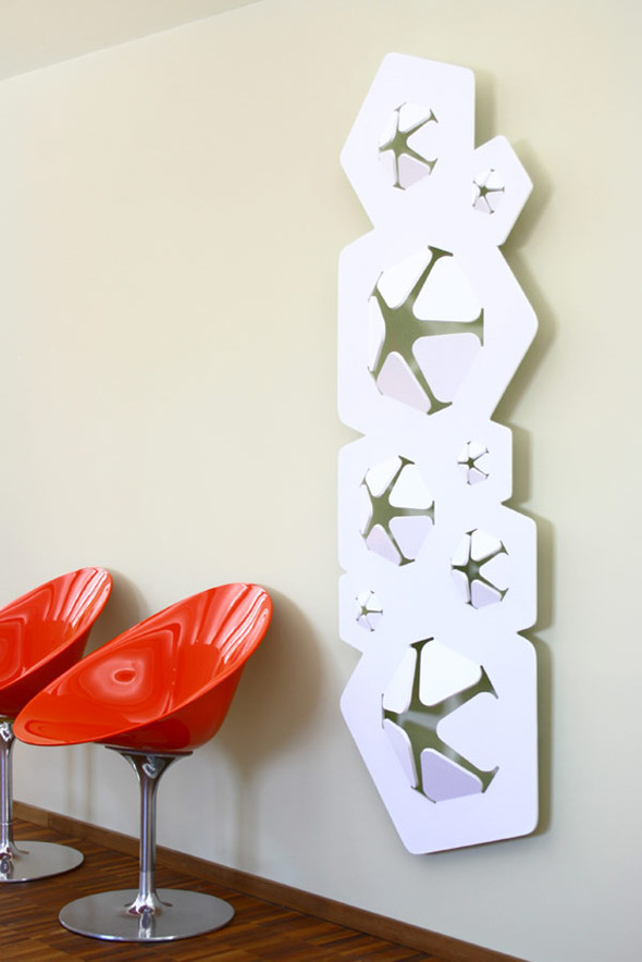 Радиатор Bloom от дизайнера Джованни Томашини. Изображение № 1.