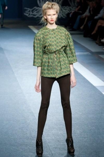 Volvo Fashion Week. День 3. Alena Akhmadullina FW 2011. Изображение № 8.