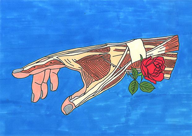 Иллюстрации маркером. Изображение № 6.
