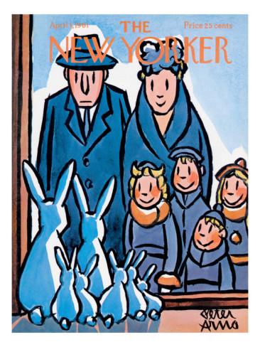 10 иллюстраторов журнала New Yorker. Изображение №22.