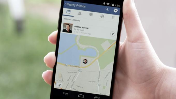 Мобильное приложение Facebook покажет друзей поблизости . Изображение № 1.