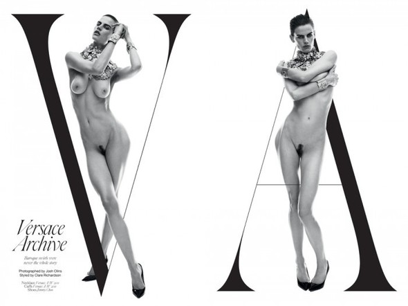 Съёмка: Саския де Брау в Versace для Industrie. Изображение № 1.
