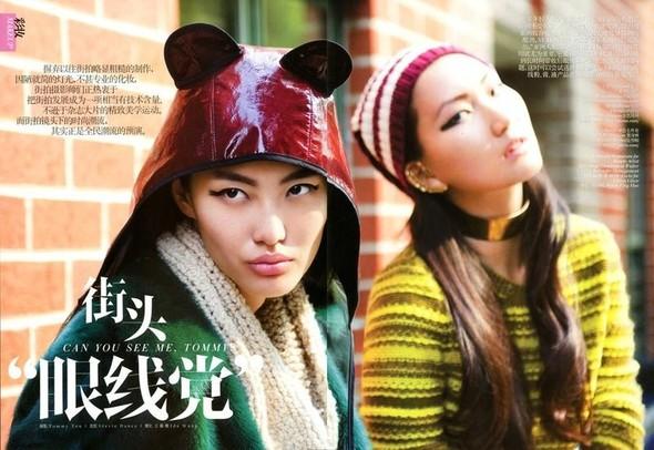 Съёмка: Томми Тон для китайского Vogue. Изображение № 2.