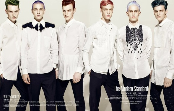 5 новых мужских съемок: Slurp, Fantastic Man, Vogue Hommes, New York Times Style и GQ Style. Изображение № 18.