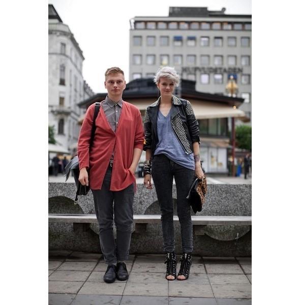 Луки с недель моды в Копенгагене и Стокгольме. Изображение № 39.