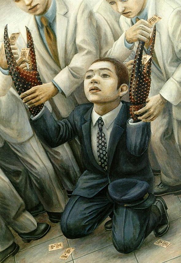 Творчество японского сюрреалиста Tetsuya Ishida. Изображение № 13.