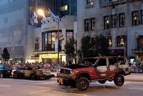 Съемки Трансформеров 3 в Чикаго. Изображение № 21.