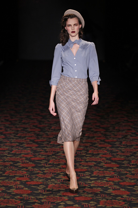 Berlin Fashion Week A/W 2012: Lena Hoschek. Изображение № 11.