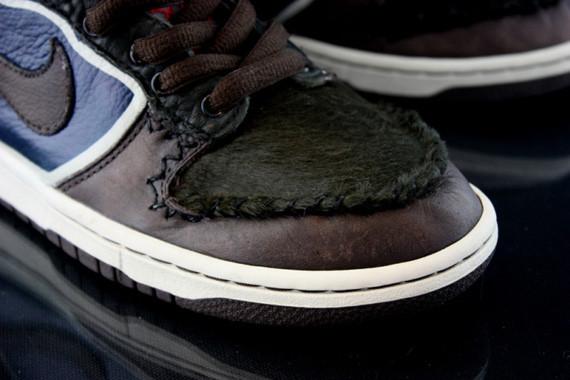 Nike Dunk High Jekyll & Hyde кастомизация от Revive. Изображение № 1.