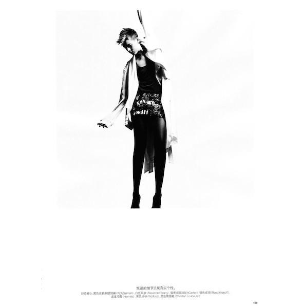 Изображение 43. Съемки: i-D, Interview, POP и Vogue.. Изображение № 50.
