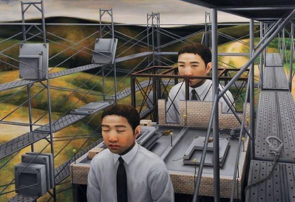 Творчество японского сюрреалиста Tetsuya Ishida. Изображение № 2.