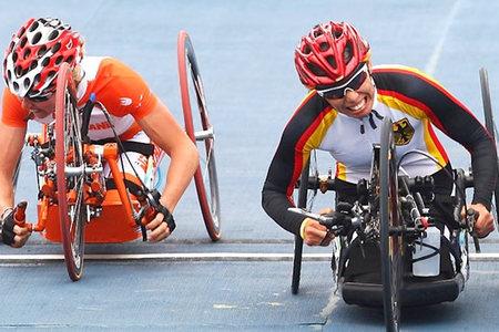 Лучшие фотографии Паралимпийских игр-2008 вПекине. Изображение № 15.