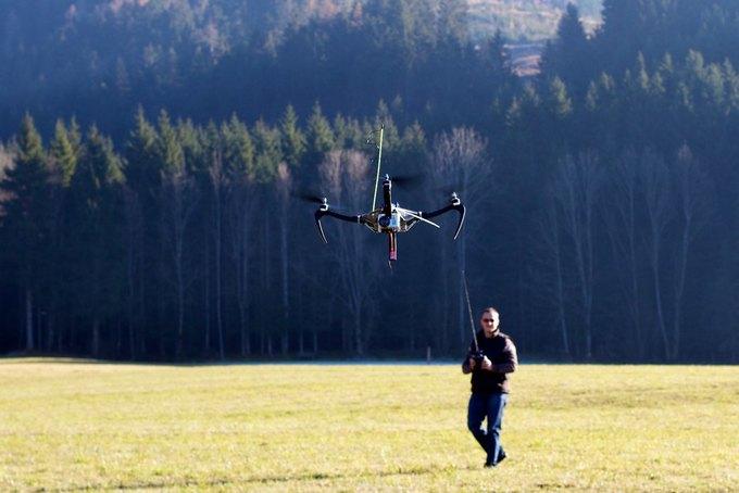 В США могут разрешить коммерческое использование дронов. Изображение № 1.