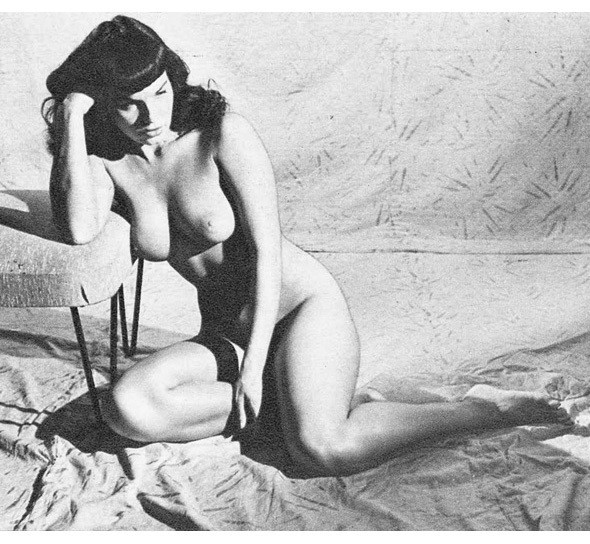 Части тела: Обнаженные женщины на фотографиях 50-60х годов. Изображение № 38.