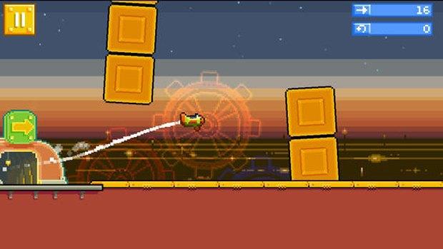 Создатели Angry Birds представили свою версию Flappy Bird. Изображение № 3.