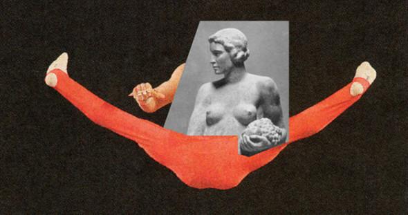 Новая атлетика: Олимпийские виды спорта в коллажах Йена Ульриха. Изображение № 2.