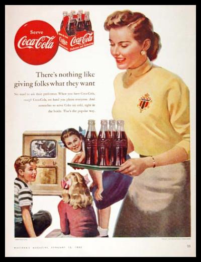 Изображение 51. Coca-cola – История бренда, история рекламы.. Изображение № 51.