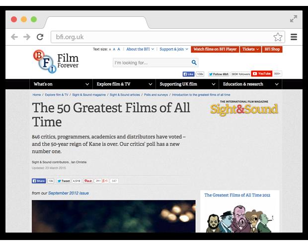 5 вкладок: список лучших фильмов и необычное радио. Изображение № 3.