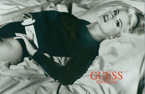 Архивная съёмка: Анна Николь Смит для кампании Guess, 1993. Изображение № 8.