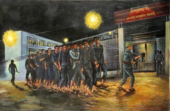 Кхмерский художник Vann Nath. Изображение № 4.