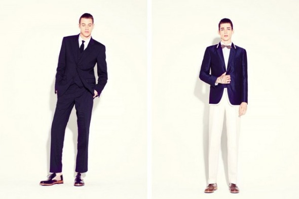 Новые мужские лукбуки Louis Vuitton, Marc Jacobs и Fred Perry. Изображение № 36.