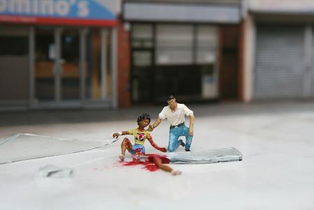 Большая жизнь маленьких людей от Slinkachu. Изображение № 19.