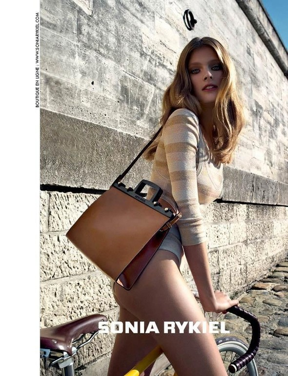 Кампания: Констанс Яблонски для Sonia Rykiel SS 2012. Изображение № 4.