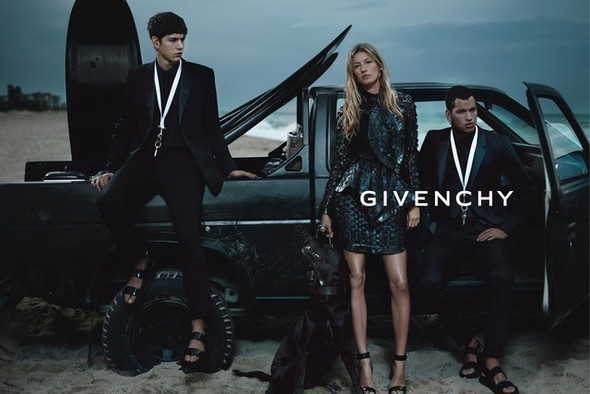 Превью кампании: Жизель Бундхен для Givenchy SS 2012. Изображение № 2.