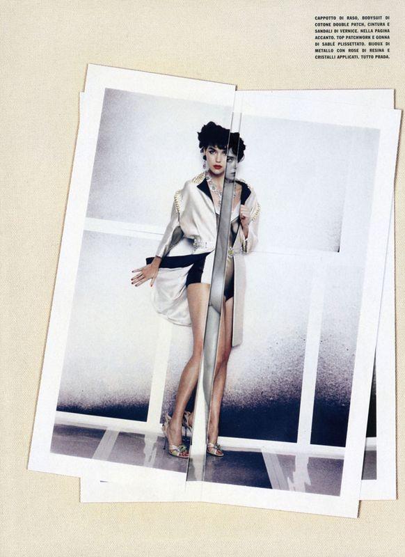 Съёмки: Стивен Майзел и Паоло Роверси для итальянского Vogue. Изображение № 18.