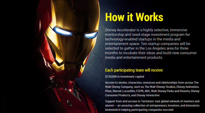 Disney запустила программу развития стартапов . Изображение № 2.