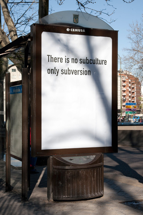 Изображение 10. Искусство вместо рекламы.. Изображение № 10.