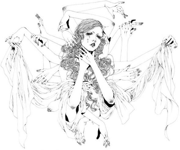 Katsuta Mako – черно-белая грация. Изображение № 27.