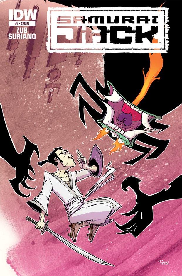 «Самурай Джек» вернётся в комиксах IDW. Изображение № 1.